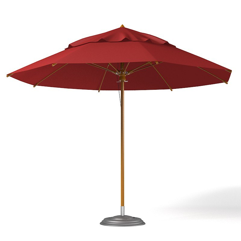 Fiberbuilt contract patio caffe cafe restaurant  beach umbrella sun garden outdoor big.jpg