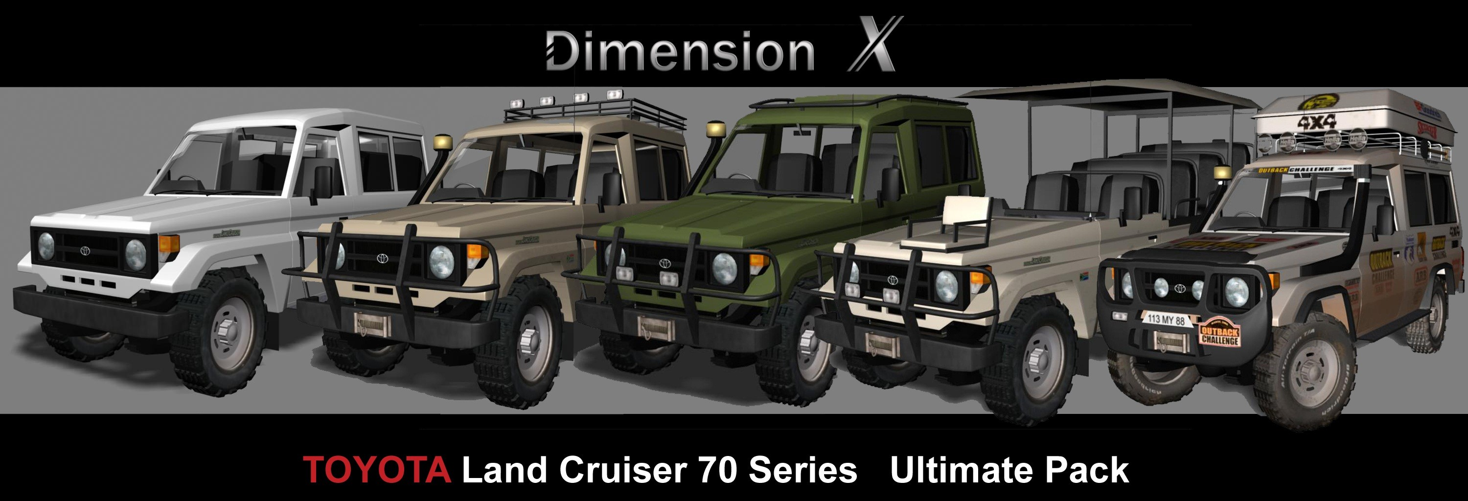 Toyota Land Cruiser Ultimate pack