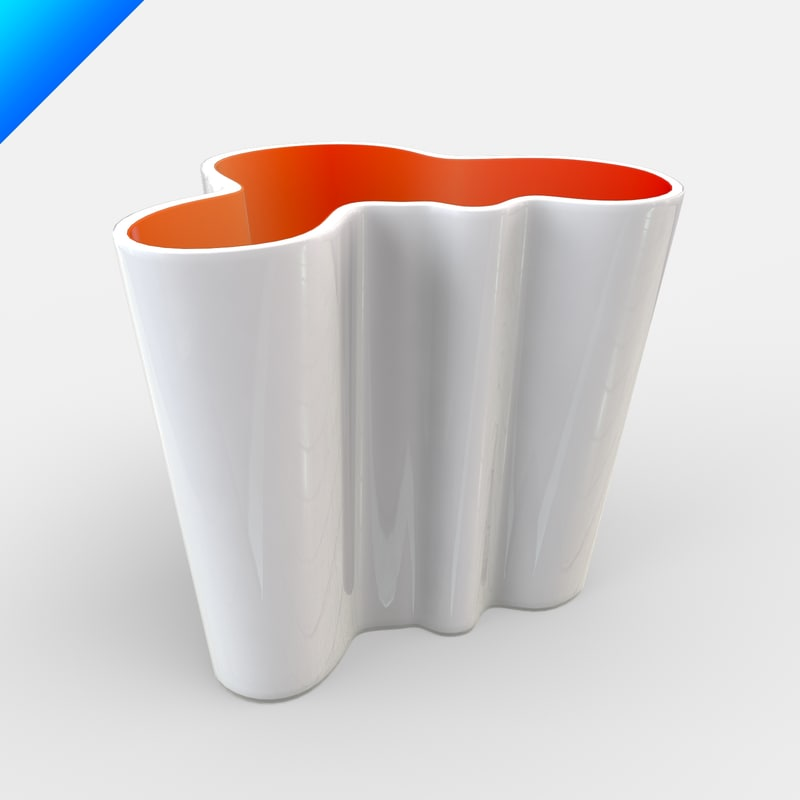alvar aalto glass vase max. Black Bedroom Furniture Sets. Home Design Ideas