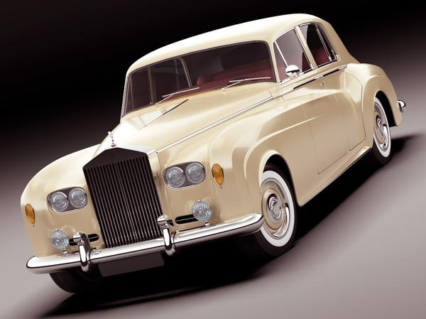 Rolls Royce Silver Cloud III Stock Photography