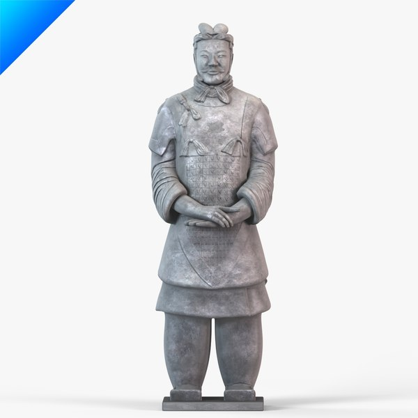 Terracotta Warriors-Senior Officer 3D Models