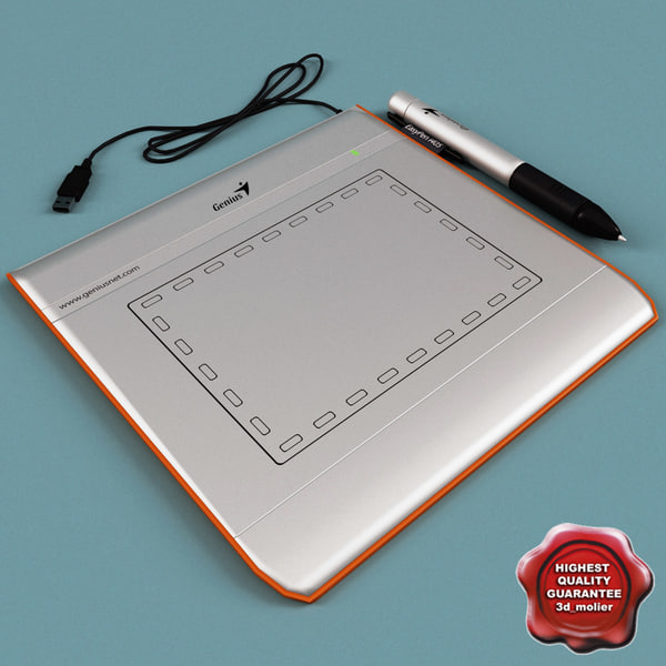 Graphic Tablet Genius EasyPen i405 3D Models