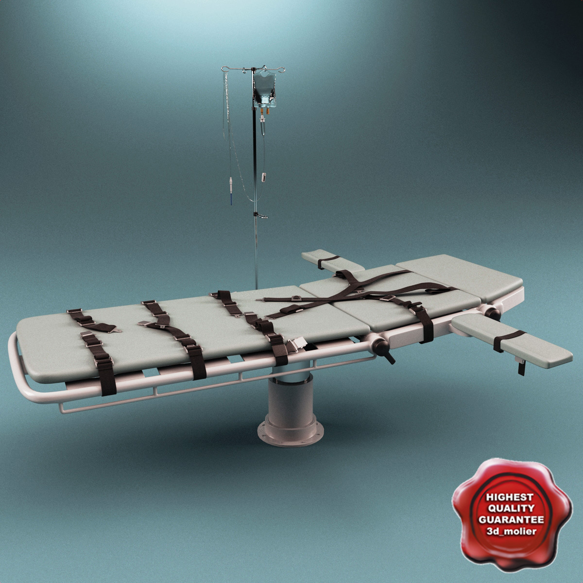 3ds max injection bed