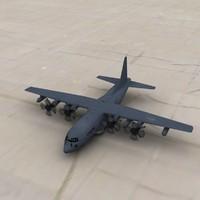 AC-130 3D models