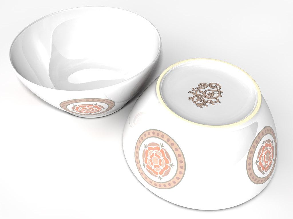 Ceramic Dish Bowl