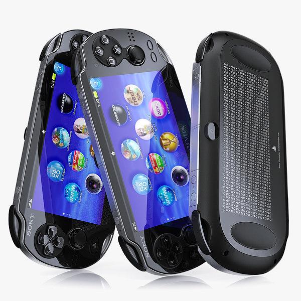 Sony PlayStation Vita 3D Models