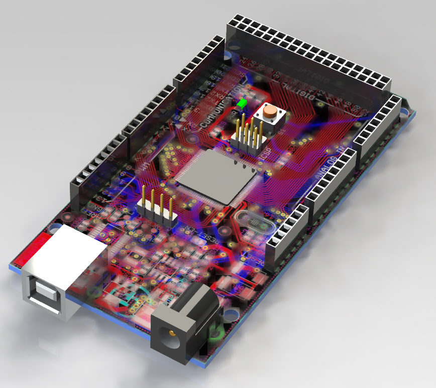 Electronics project board ds