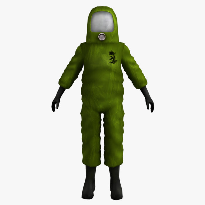 max man suit rigged