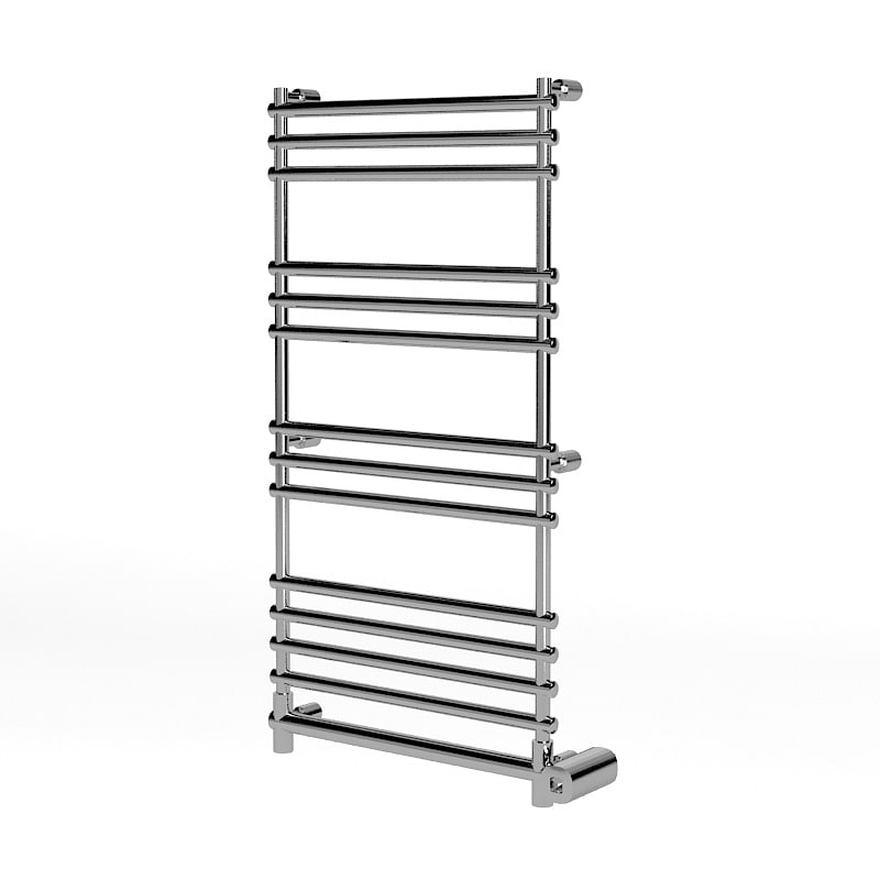 Margaroli 564-11 box Electric Heated Towel Rail modern contemporary steel chrome.jpg