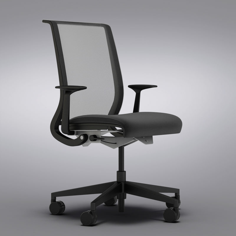 Steelcase Think Office Chair with Black Cushion_0003.jpg