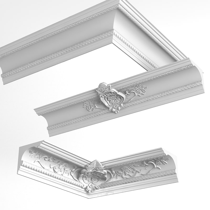 Petergof t261 k143 baroque plaster ceiling wall cornice classic carved decorated.jpg