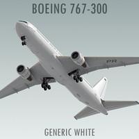 Boeing 767-300 3D models