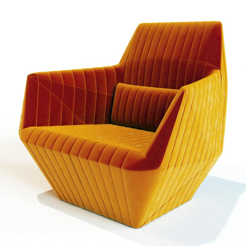 3dsmax ligne roset facett. Black Bedroom Furniture Sets. Home Design Ideas