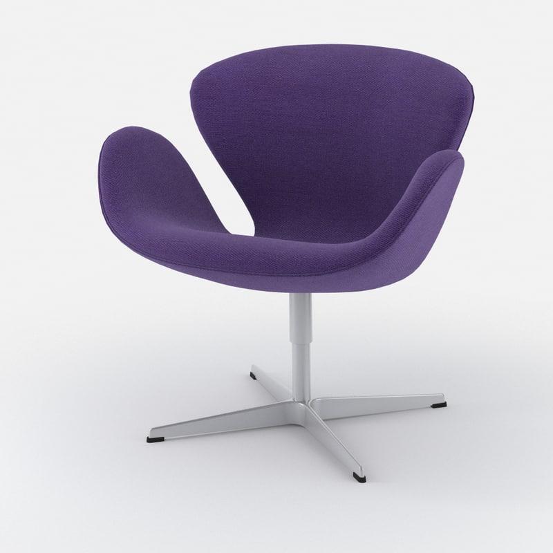 Fritz hansen swan 3320 easy chair high quality