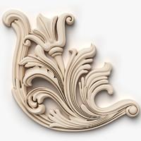 corner element 3D models