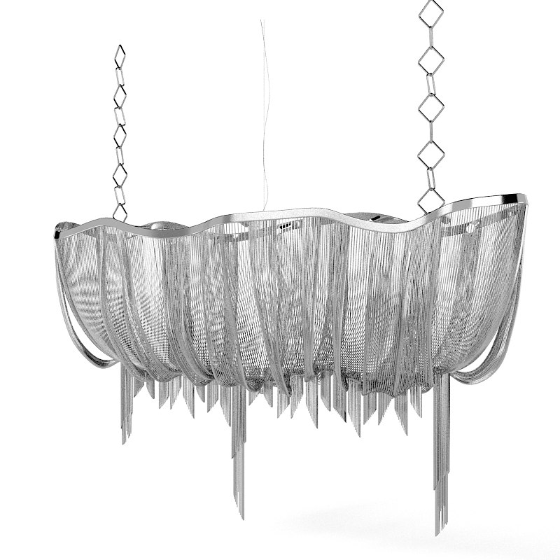 Terzani Atlantis Modern contemporary designers chandelier ceiling lamp art chain0001.jpg