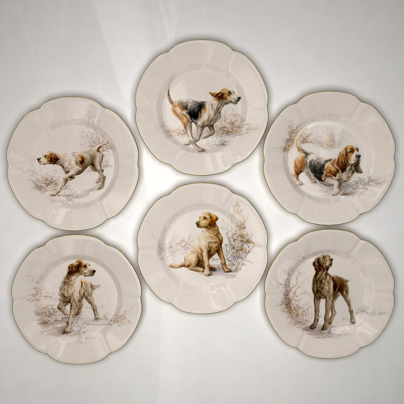 Plates Hunter Collection 1