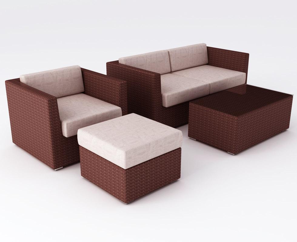 Set Furniture Obj