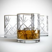 highball glass 3D models