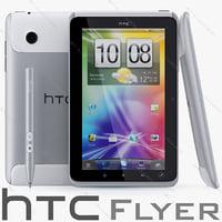 HTC Flyer 3D models