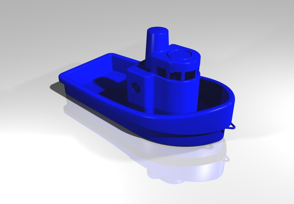 toy plastic boat