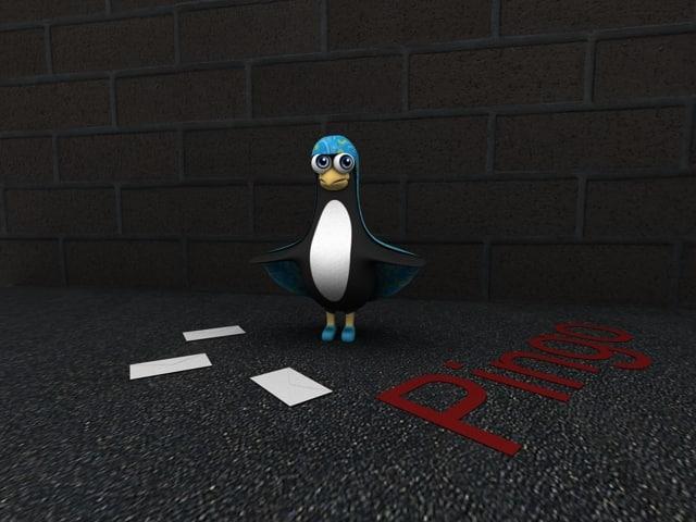 Cartoony Penguin