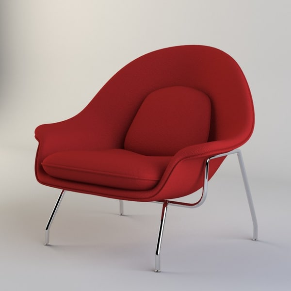 Womb Chair 3D Models