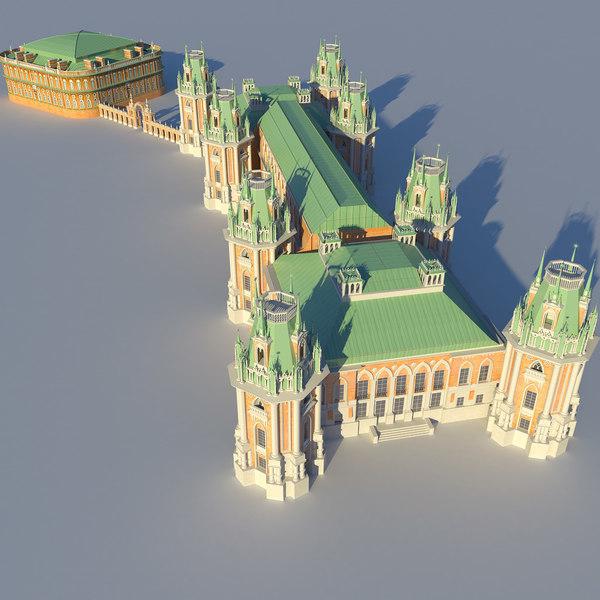 Palace Complex 3D Models