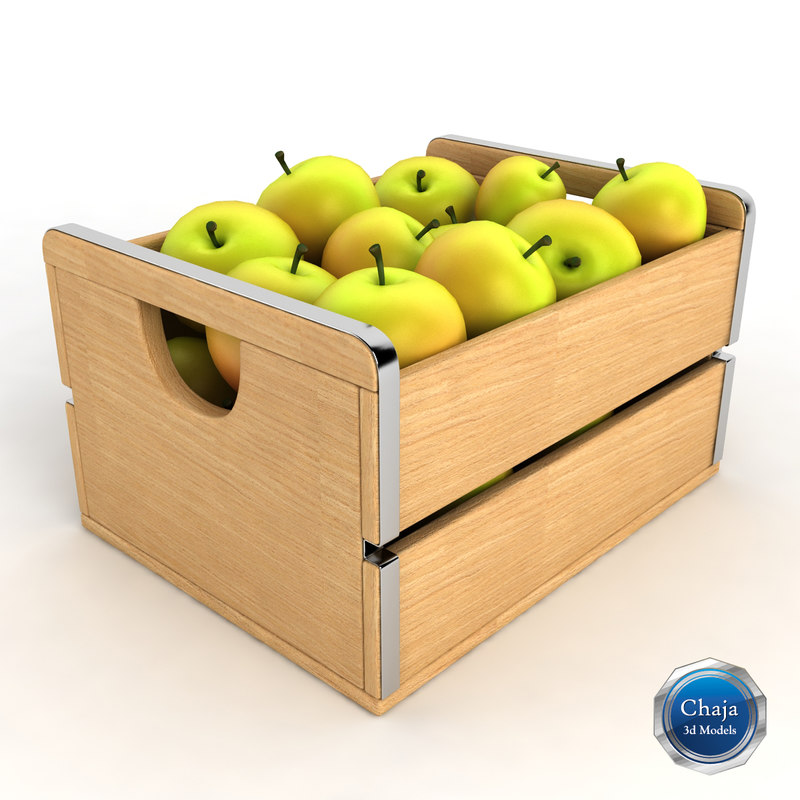 3ds max apple crate for How to make apple crates