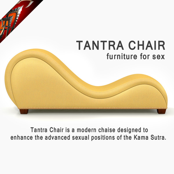 Tantra Chair - Furniture for sex 3D Models