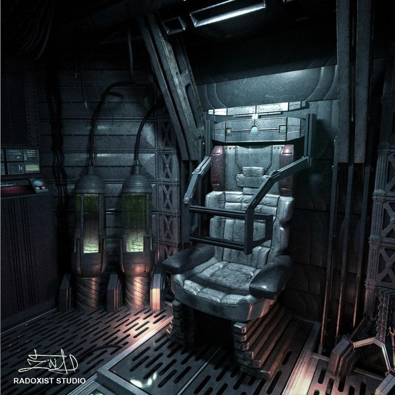 space shuttle interior 3d scan - photo #20