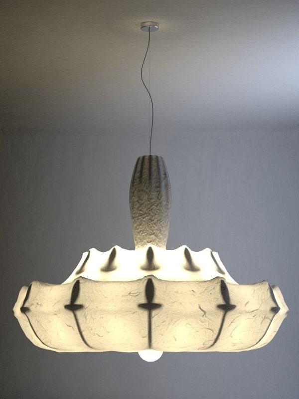 3ds wanders zeppelin suspension lamp