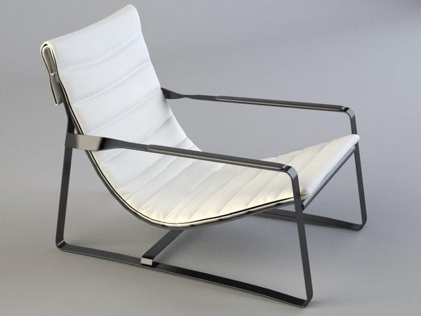 Hopper armchair 3D Models