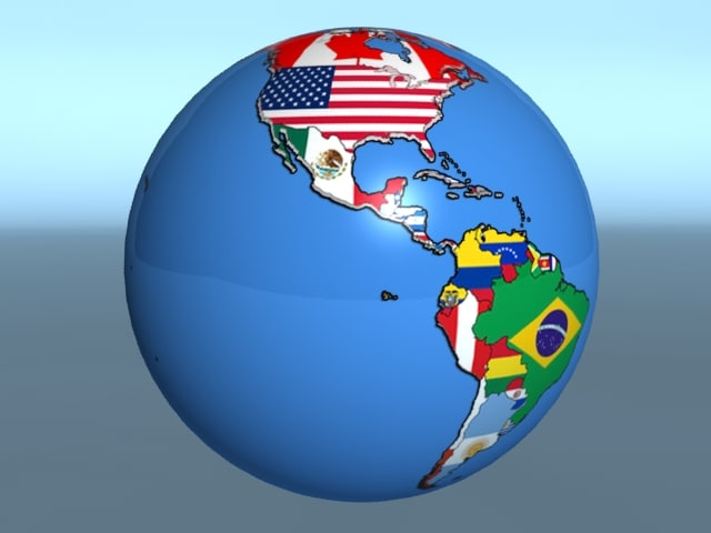 World Country  Flags Geopolitica  Globe