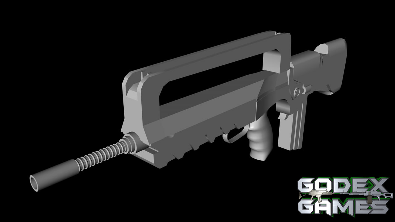 GodexGames : FAMAS Assault rifle