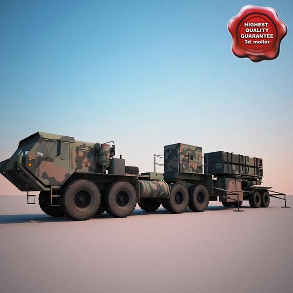 MIM-104 Patriot System 3D Models