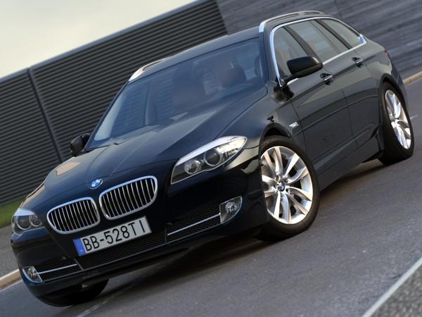 BMW 5 touring (2011) 3D Models