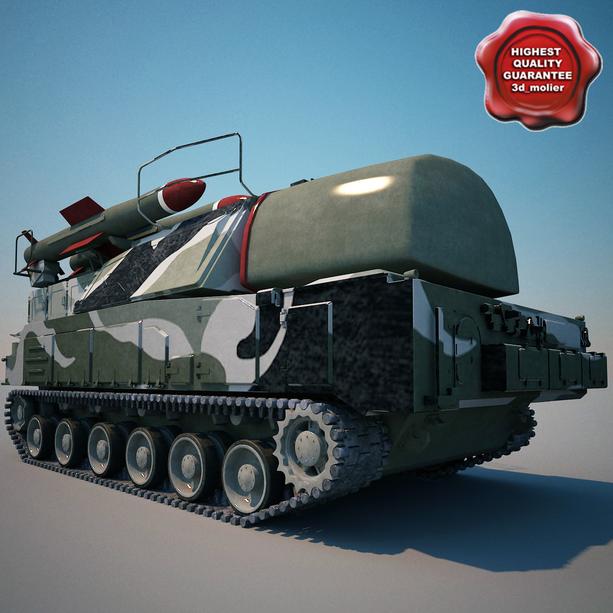 Buk missile system SA-17 Grizzly