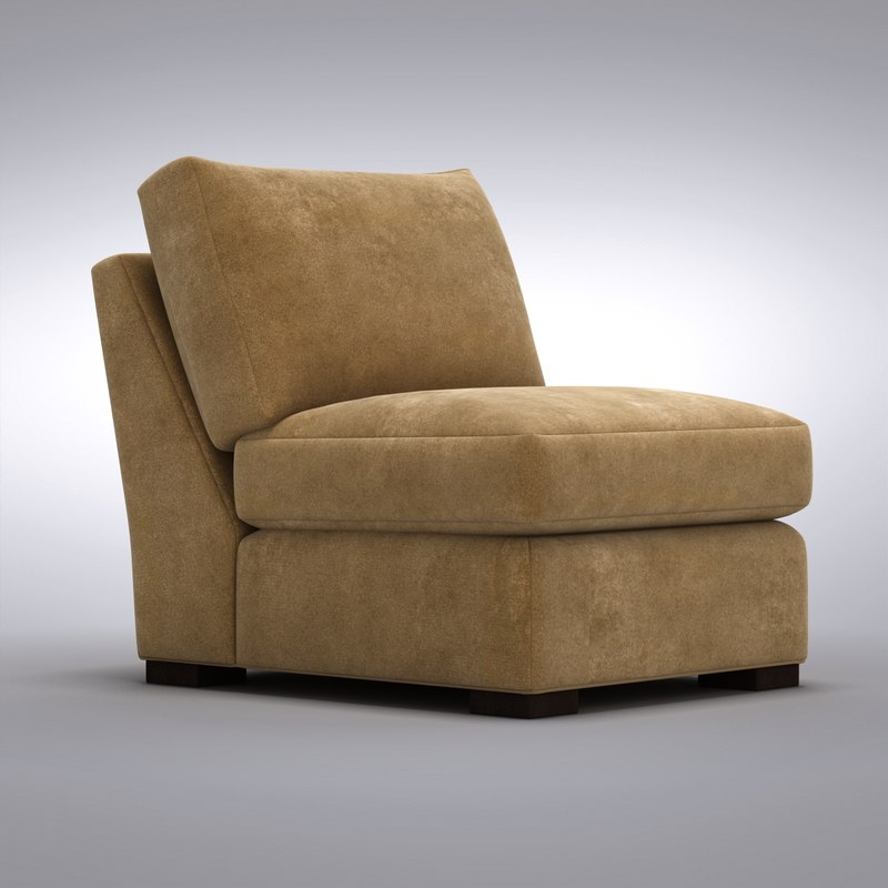 Crate barrel axis 3d max for Crate and barrel armless chair