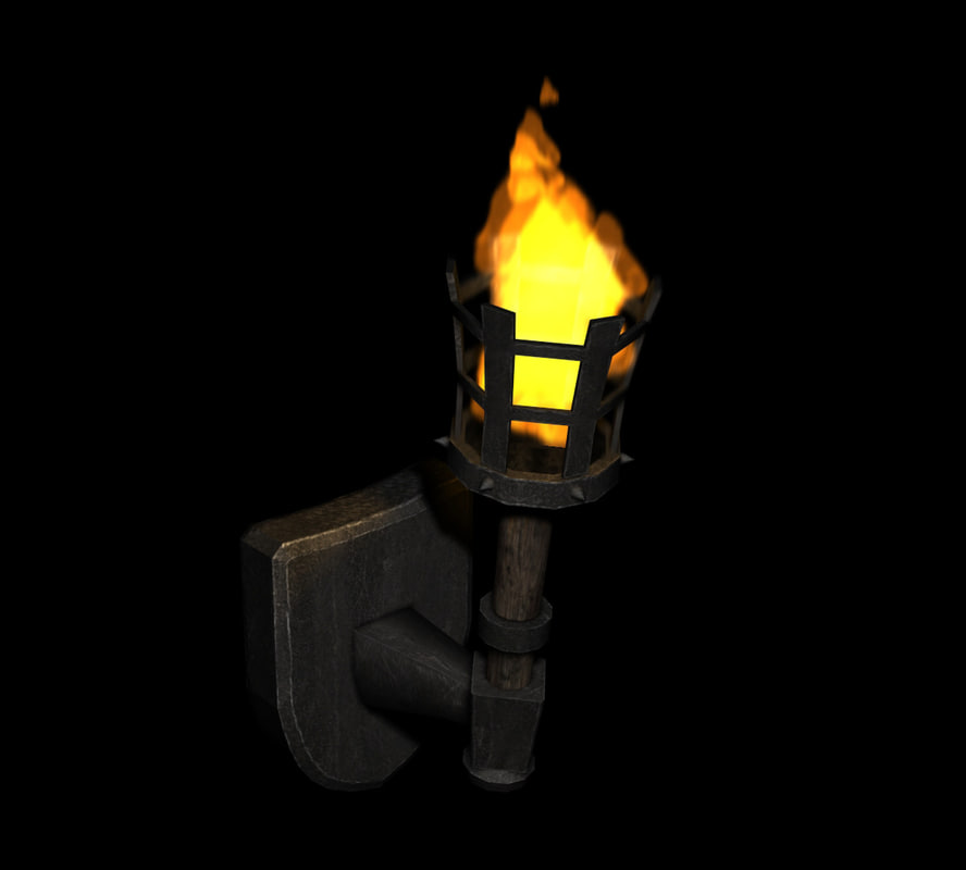 Medieval Light Fixtures max medieval torch