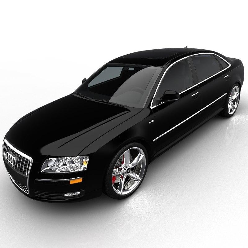 3d Audi W12
