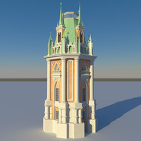 bell tower 3D models
