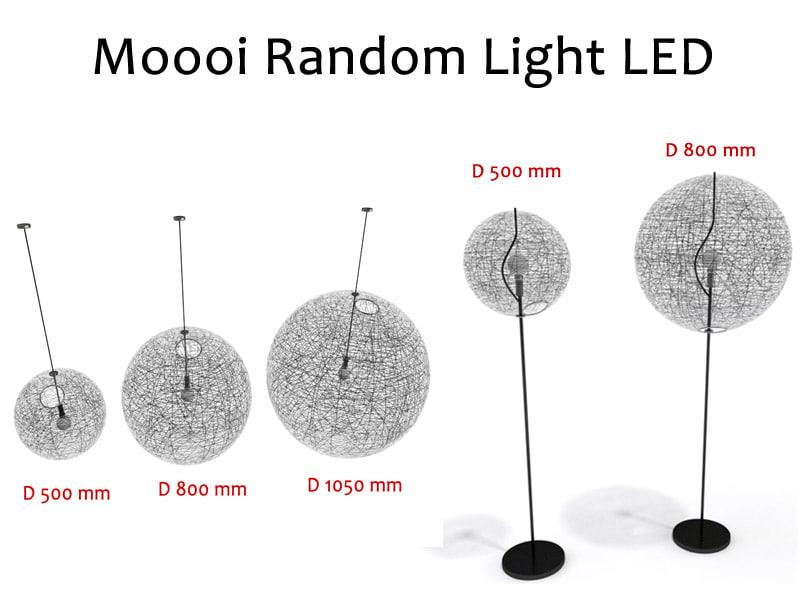 Moooi Random lamps