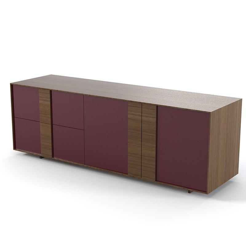 Credenza 3d models for Sideboard 3d