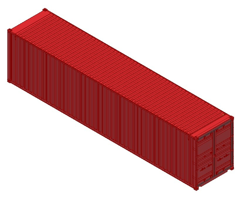 container ship cad joy studio design gallery best design On tall shipping container