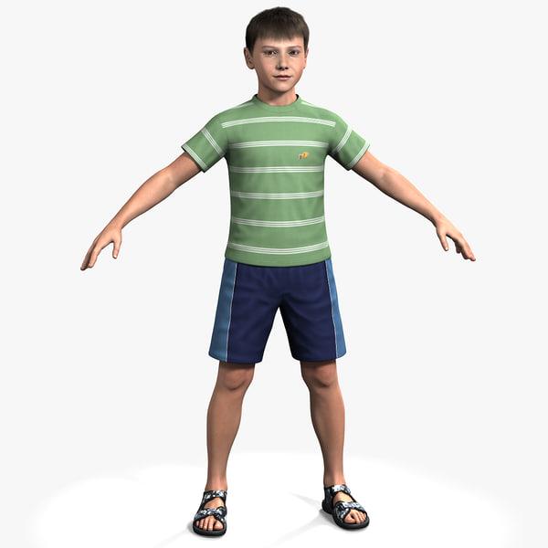 Ben, No Rig 3D Models