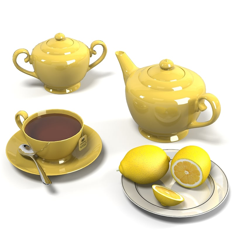 Tea composition teapot cup tabag lemop plate dish set.jpg