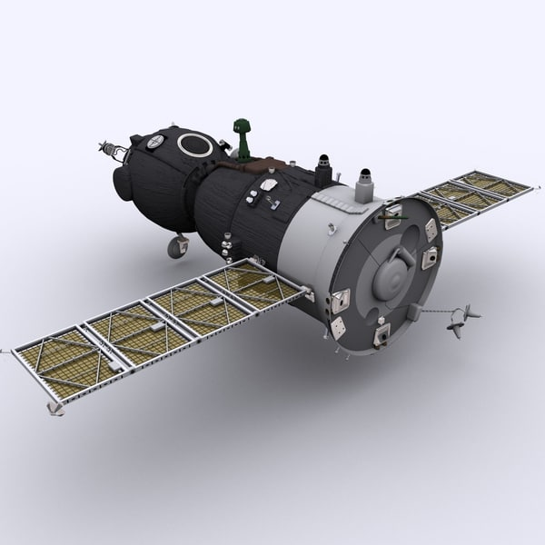 Spaceship Soyuz TMA 3D Models