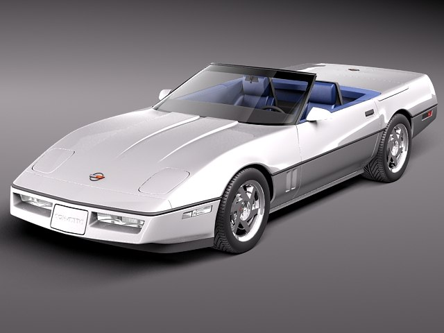 chevrolet corvette c4 convertible max