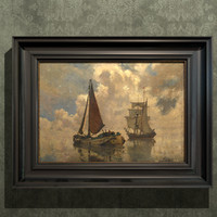 oil painting 3D models